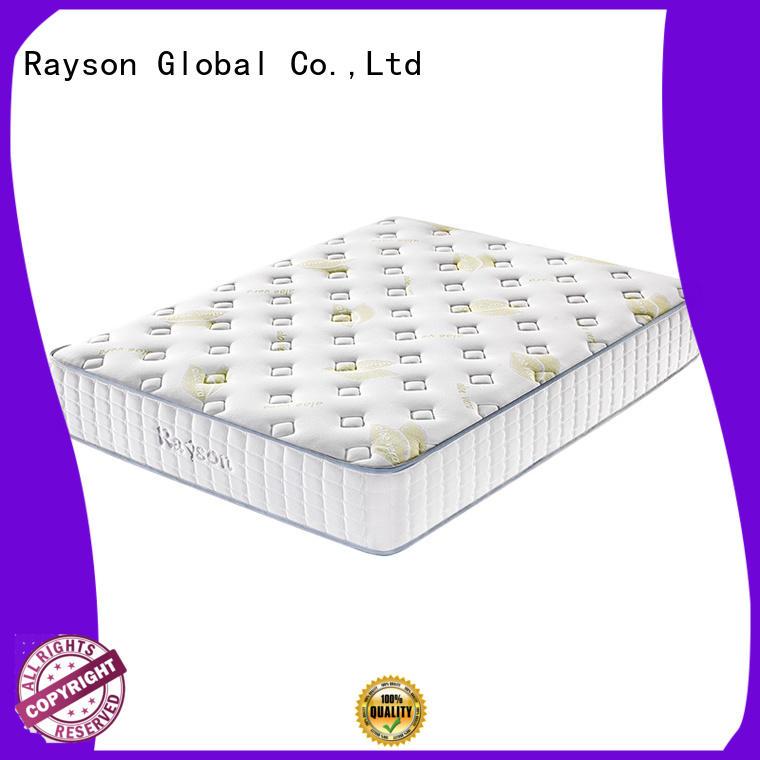 Rayson Brand two back size pocket sprung memory foam mattress