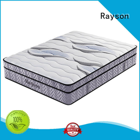 Rayson spring mattress luxury hotel mattress customized bulk order