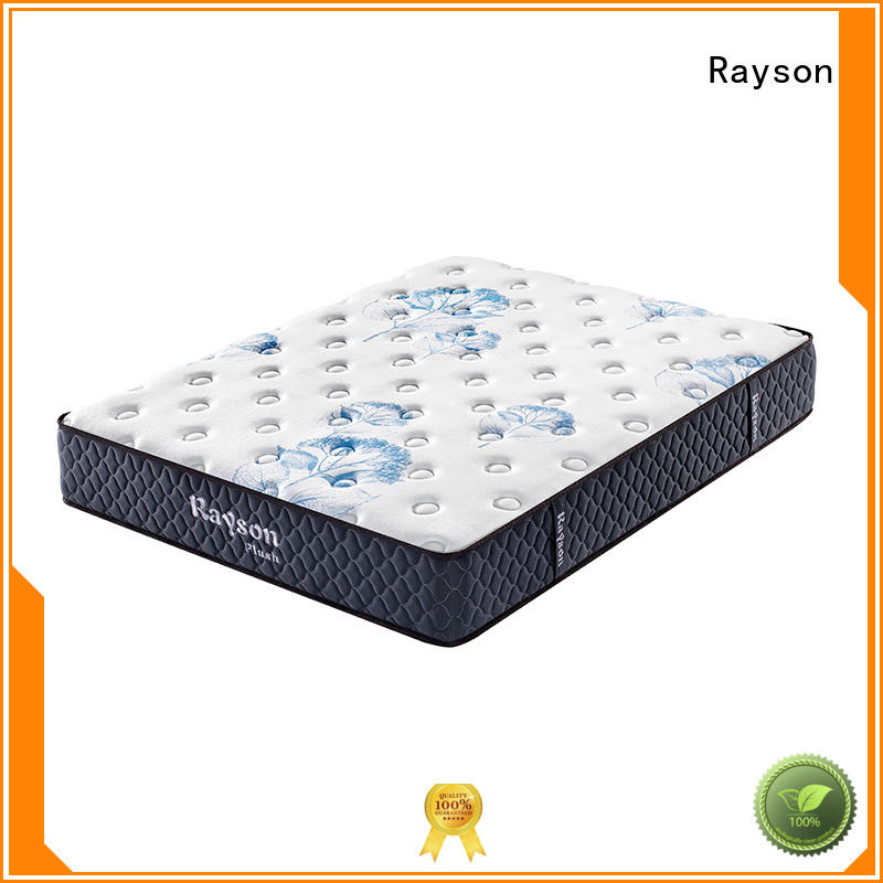 9inch box mattress Rayson Brand gel memory foam mattress supplier