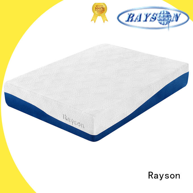 Rayson high-end full memory foam mattress free design for sound sleep