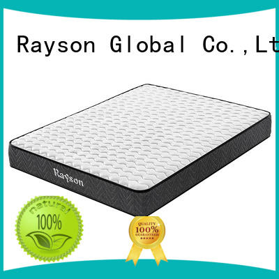 Rayson Brand back available pocket spring mattress pocket factory