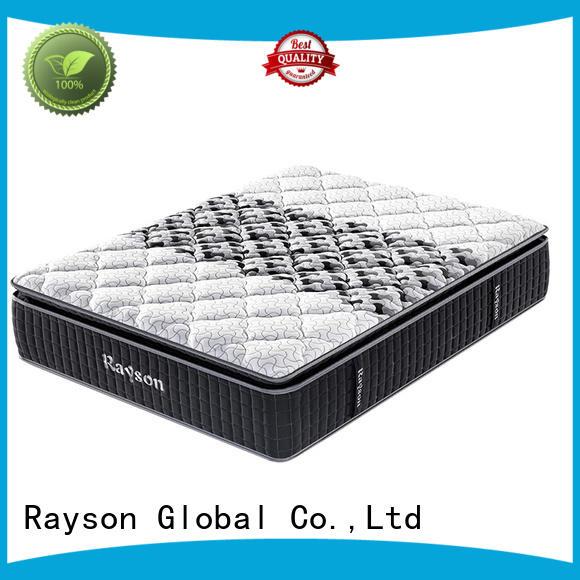 3 zone pillow top hotel pocket spring mattress gel memory foam