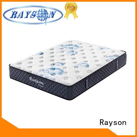 Rayson Brand pu 25cm gel memory foam mattress memory factory