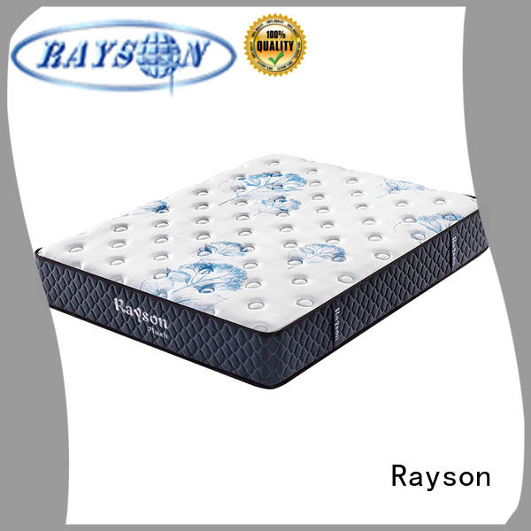 Rayson gel full memory foam mattress free design with pocket spring