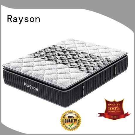 Rayson high-quality best pocket sprung mattress knitted fabric high density