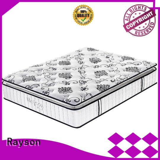 Rayson hotel mattress suppliers chic for customization