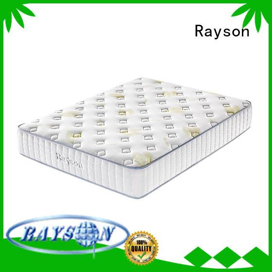 Wholesale memory pocket sprung memory foam mattress Rayson Brand