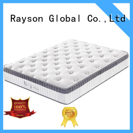 Rayson available pocket memory mattress wholesale light-weight