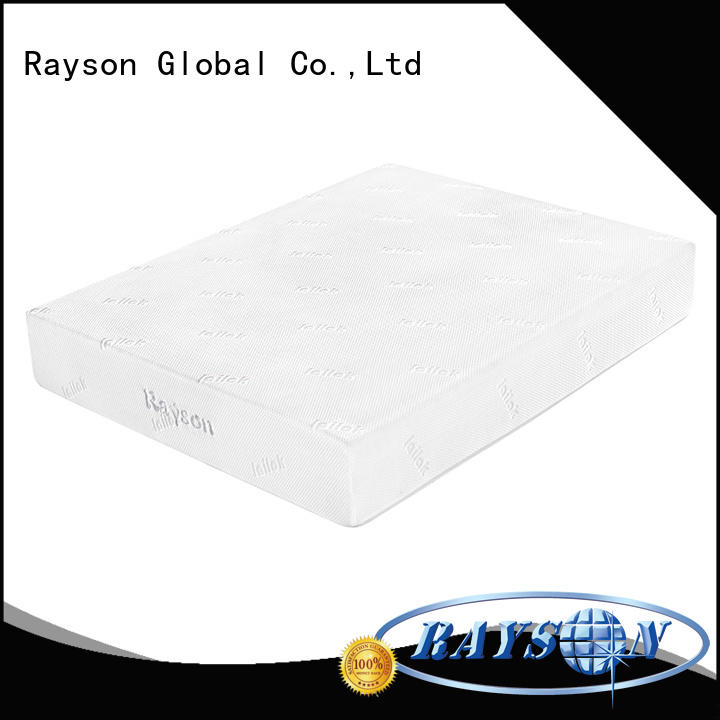 Rayson customized soft memory foam mattress free delivery