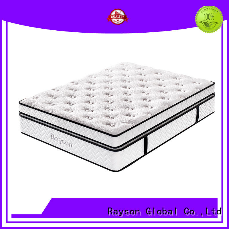 Rayson spring mattress 5 star hotel mattress wholesale for sleep