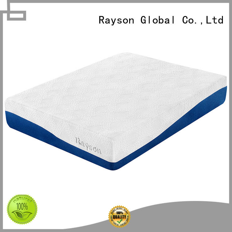 Hot customized gel memory foam mattress bed 9inch Rayson Brand