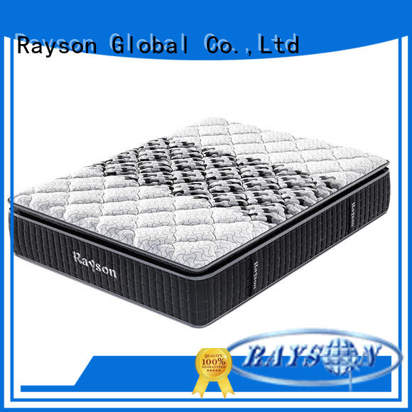 Rayson luxury hotel bed mattress customized for sleep