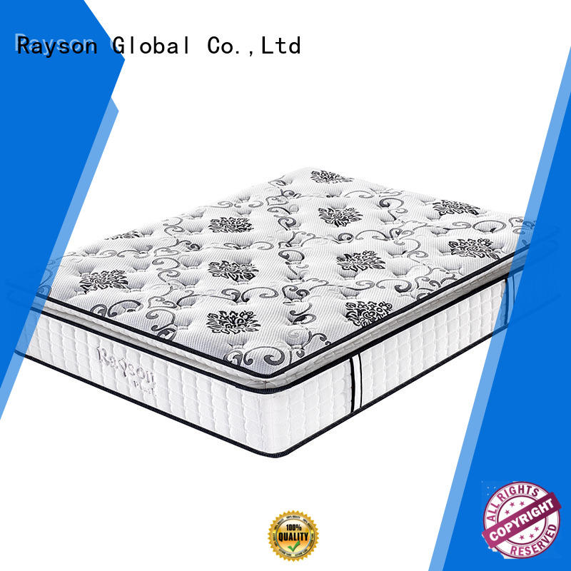 Rayson Brand mattress euro hotel quality mattress customized factory