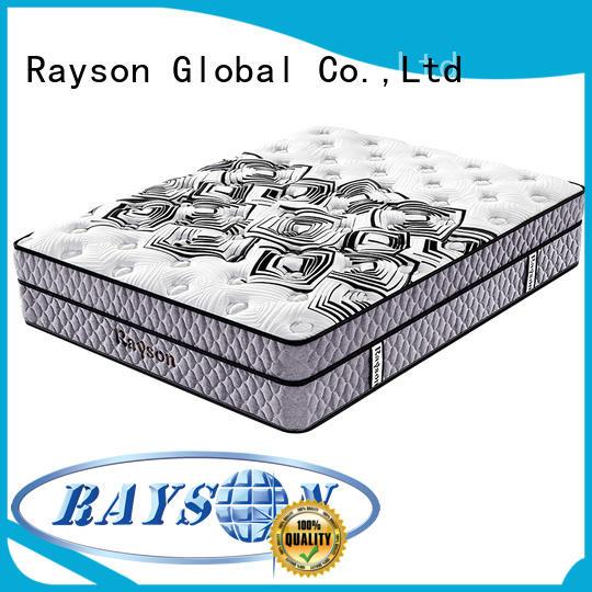 Rayson Brand double luxury 5 star hotel mattress compress factory