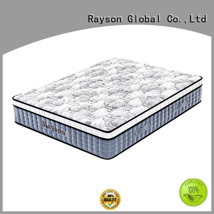 Rayson double sides luxury hotel mattress innerspring at discount
