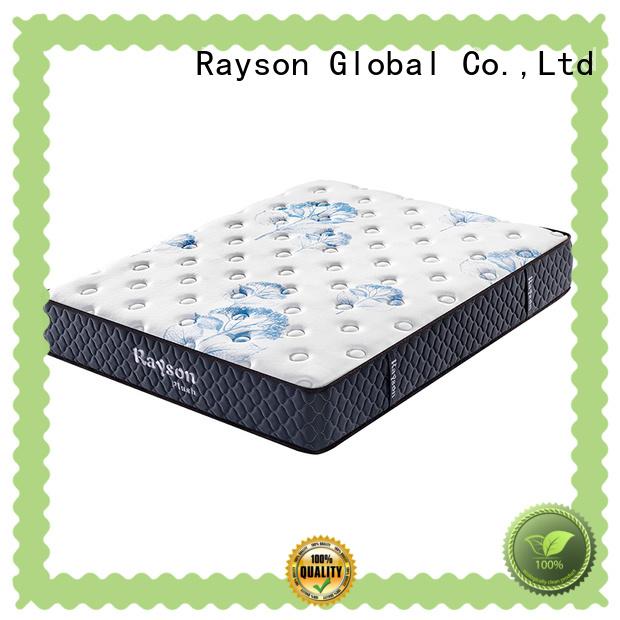 knitted fabric custom memory foam mattress customized free design for sound sleep