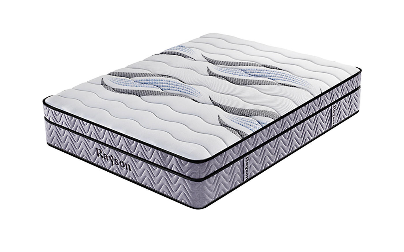 King 5 star hotel bonnell pocket spring euro top mattress wholesale-1