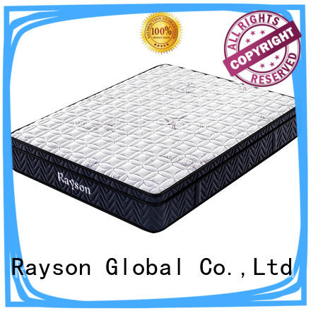 Rayson compress pocket hotel type mattress free design memory foam
