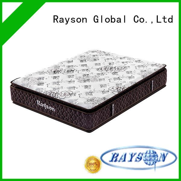 Rayson customized pocket spring mattress king size wholesale high density