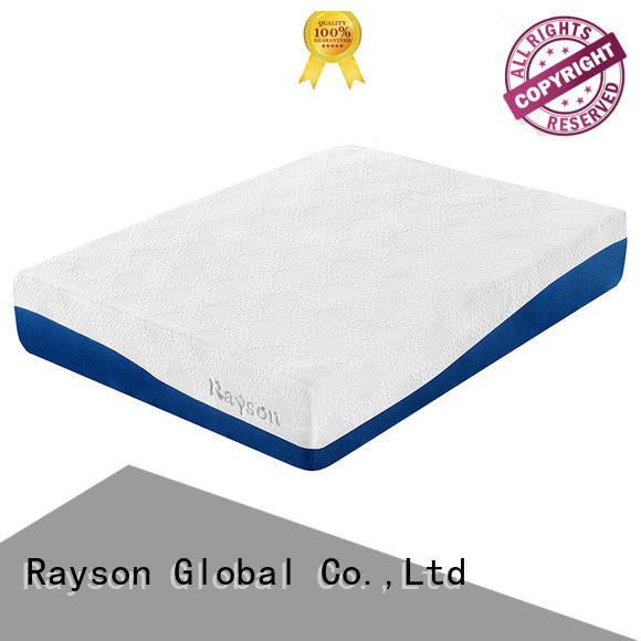 Rayson Brand gel mattress customized gel memory foam mattress manufacture