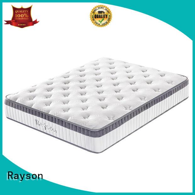 density 5zone Rayson Brand pocket sprung memory foam mattress factory