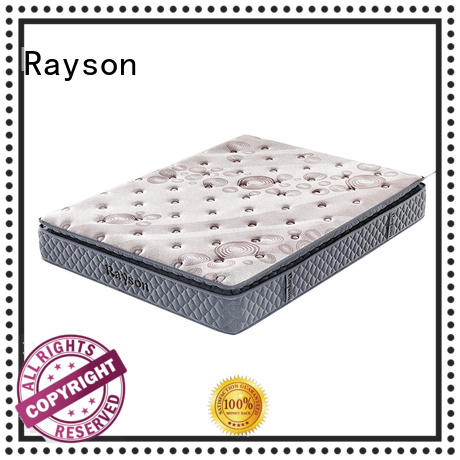 bonnell vs pocketed spring mattress customized for star hotel Rayson