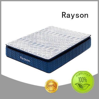 Rayson double sides hotel bed mattress customized at discount
