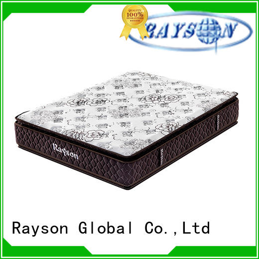 Rayson tight top pocket spring mattress wholesale high density