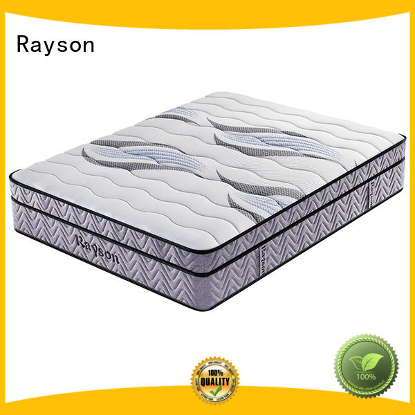 Rayson latex hotel bed mattress customized bulk order