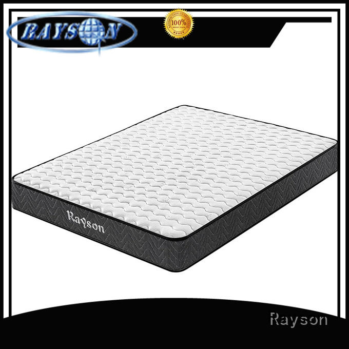 Rayson king size cheap pocket sprung mattress wholesale high density