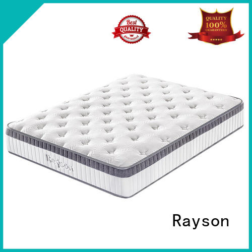 Rayson customized pocket coil mattress wholesale high density