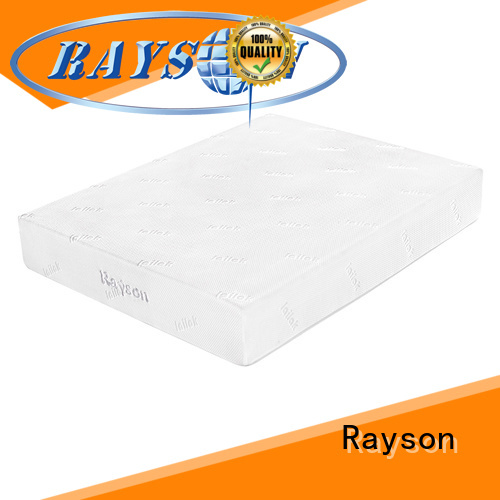 knitted fabric gel memory foam mattress customized free design for sound sleep