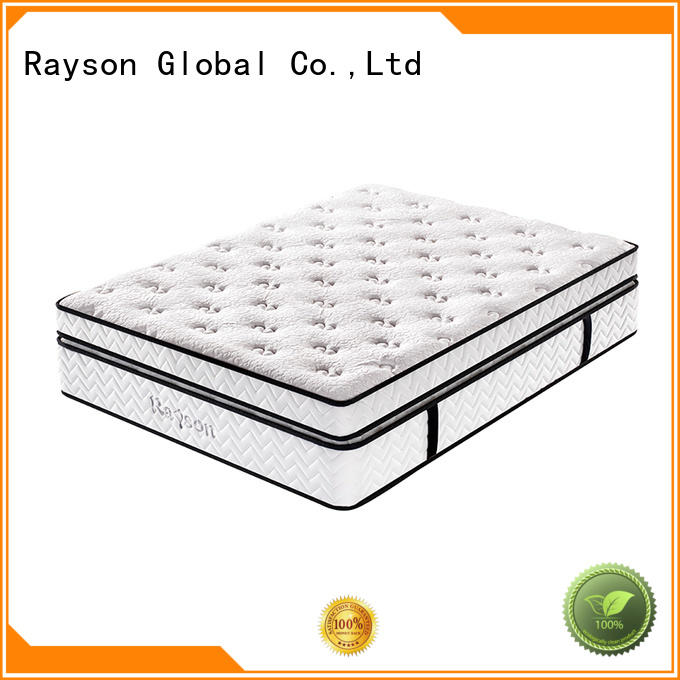 Rayson memory foam luxury hotel mattress innerspring bulk order