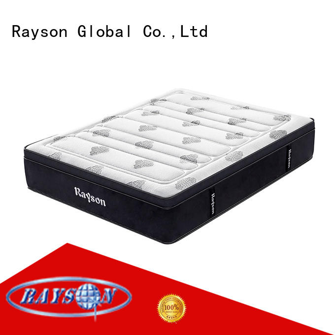 Rayson 36cm height 5 star hotel mattress brand wholesale at discount