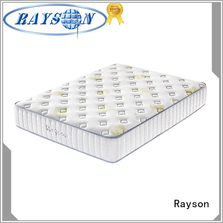 Rayson high-quality best pocket spring mattress low-price at discount