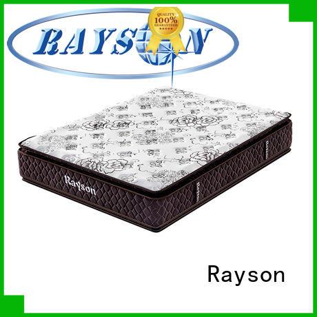 pocket sprung memory foam mattress king pocket size Rayson Brand company
