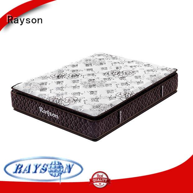 Rayson customized pocket sprung memory foam mattress low-price light-weight