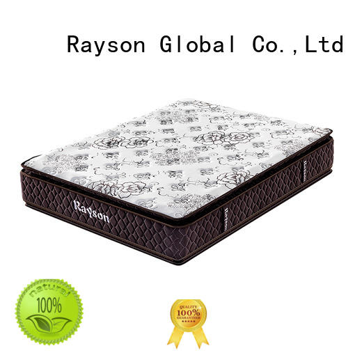 Rayson available pocket spring mattress double king size light-weight