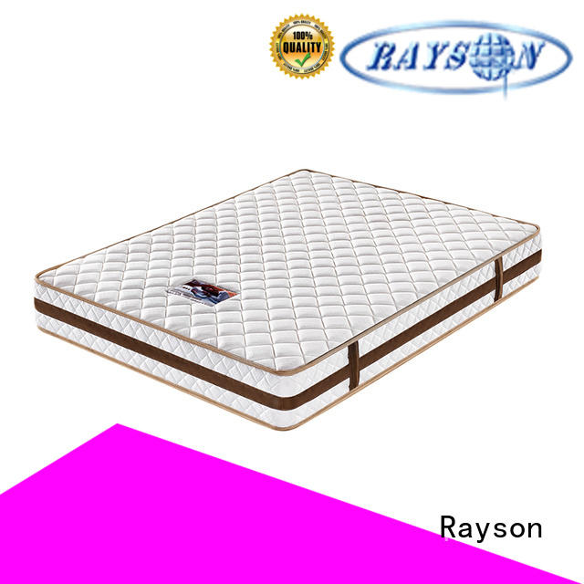 Rayson tight top pocket spring bed luxury high density
