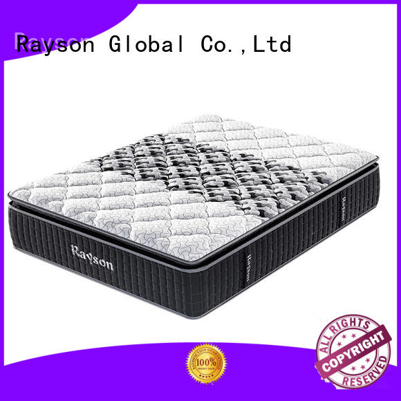 Rayson luxury pocket spring mattress double low-price at discount