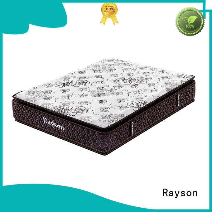 pocket sprung memory foam mattress rsp2s pillow customized Rayson Brand