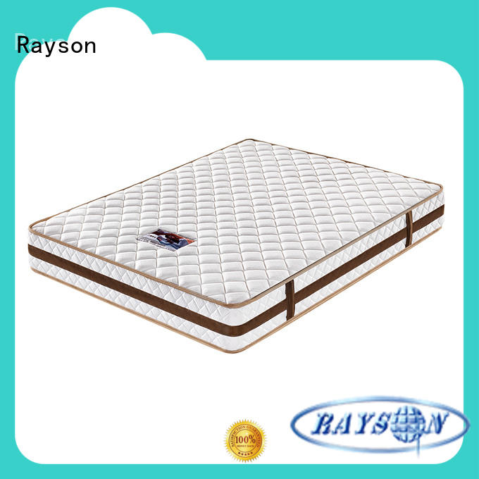 chic design pocket sprung mattress with memory foam top wholesale high density Rayson