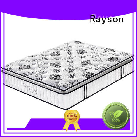 Rayson Brand mattress spring custom top rated hotel mattresses