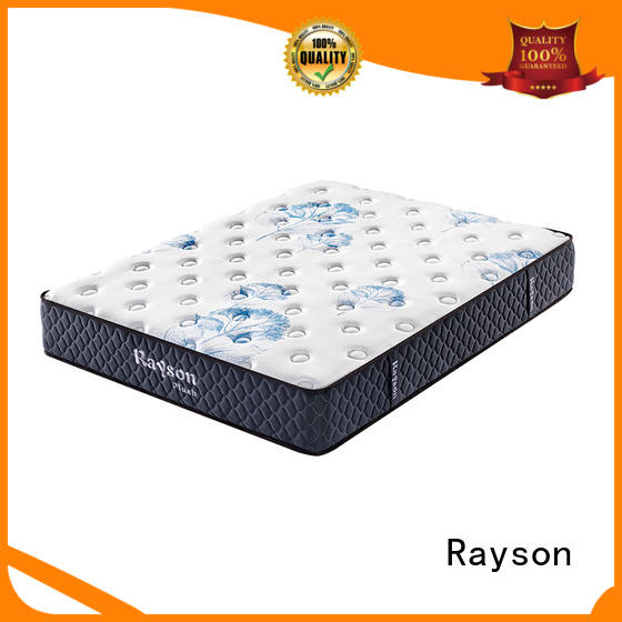 Rayson knitted fabric full memory foam mattress bulk order with pocket spring