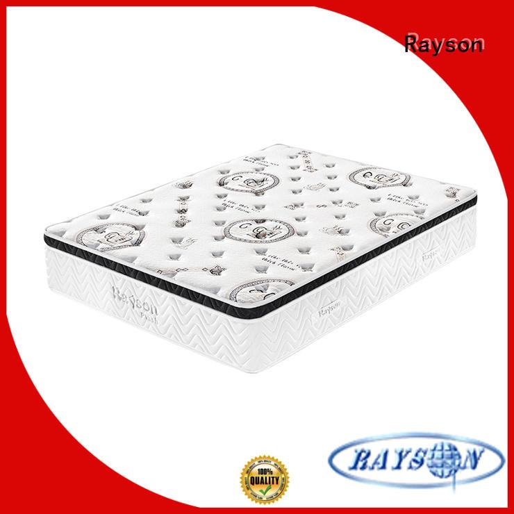 Rayson compress pocket hotel type mattress free design memory foam