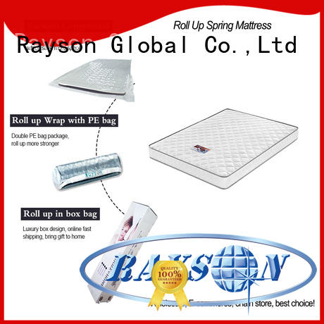 Wholesale roll rolled mattress Rayson Brand