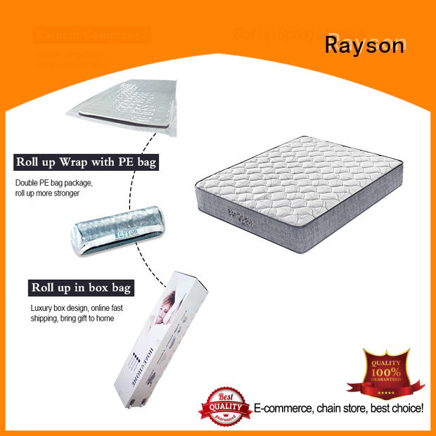 Rayson 25cm height roll up bed mattress vacuum compressed at discount
