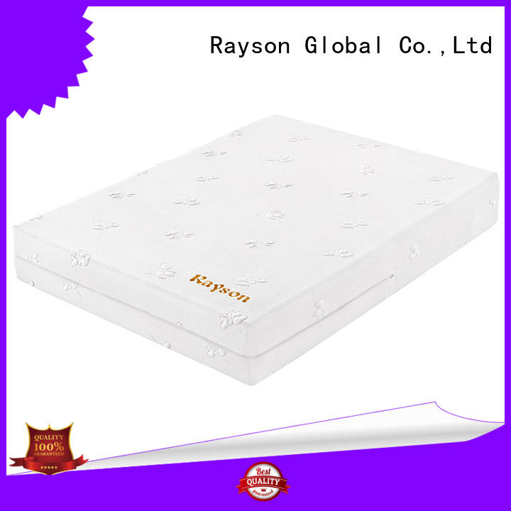 Rayson gel luxury memory foam mattress customized
