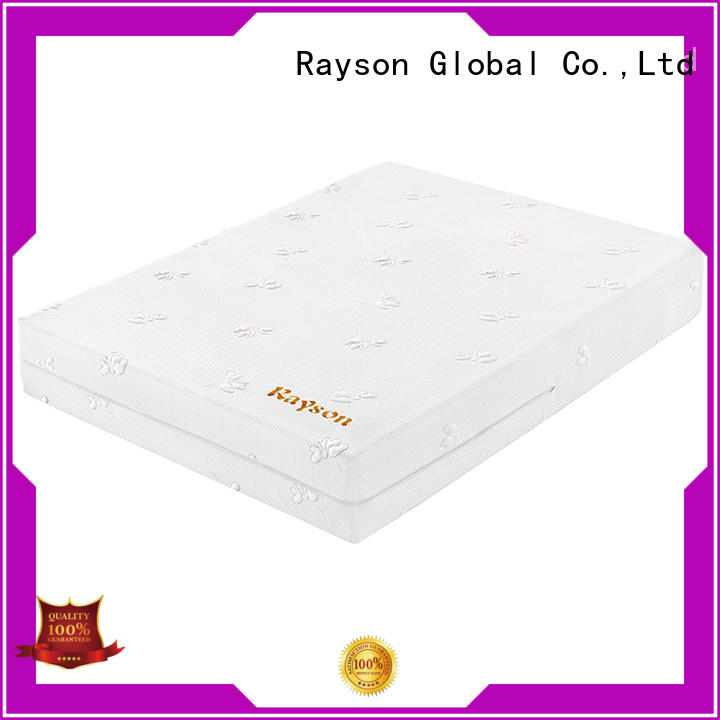 Rayson customized twin size memory foam mattress free delivery for sound sleep