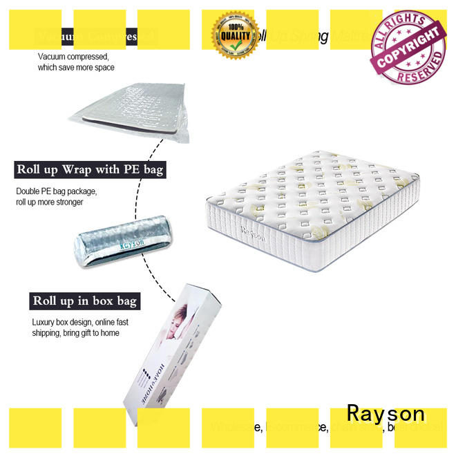 Synwin rolled roll up bed mattress vacuum compressed for wholesale